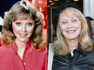 Shelley Long, then and now (Paramount Television/Everett Collection, Ryan Miller/Getty Images)