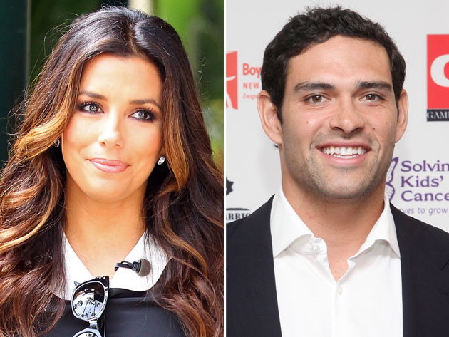 Eva Longoria and Mark Sanchez (WireImage, Getty Images)
