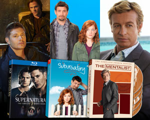 Win a 'Supernatural'/'Suburgatory'/'The Mentalist' DVD prize pack from Yahoo! TV