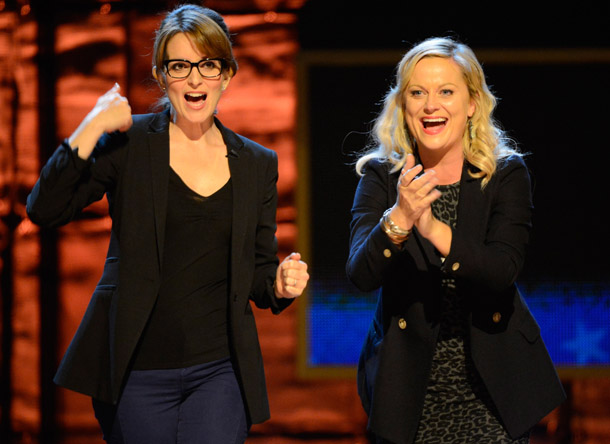 Tina Fey and Amy Poehler (Getty Images)