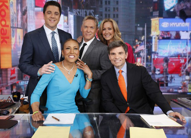 Robin Roberts returns to 'Good Morning America' (ABC)