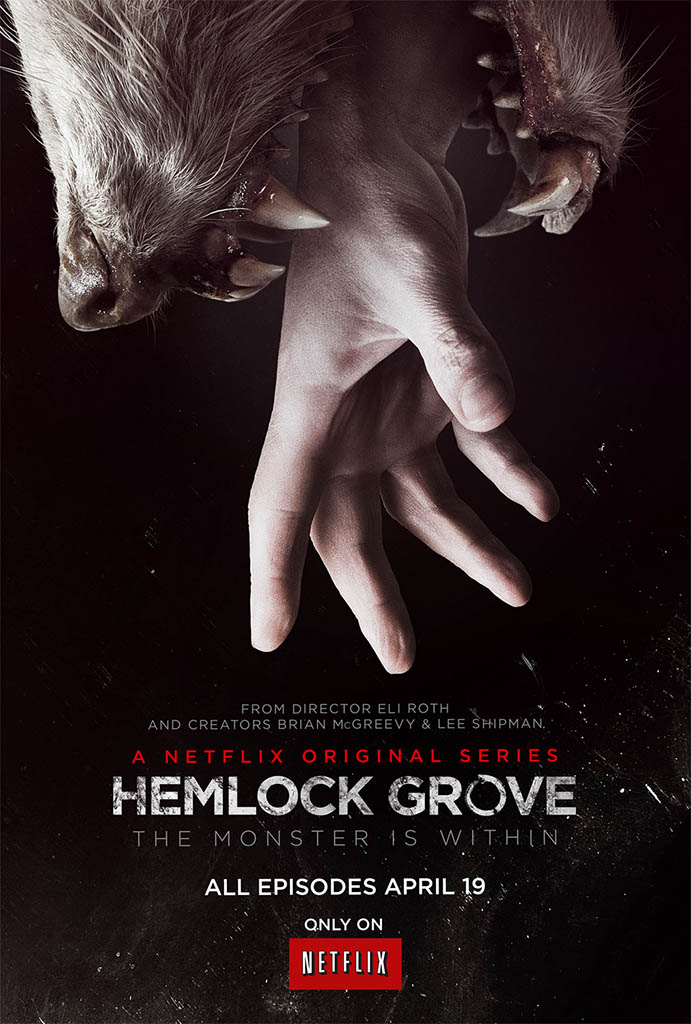 See the poster art for Netflix's original series 'Hemlock Grove'