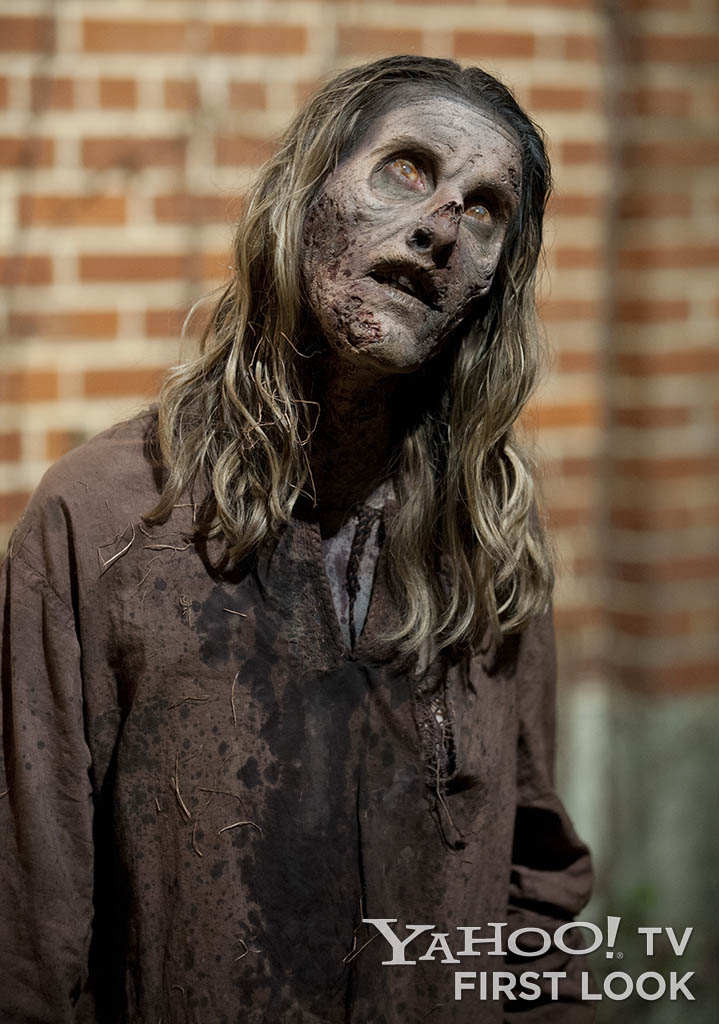 "A walker in ""The Walking Dead"" episode, ""Prey."""