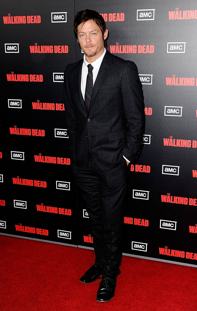"Premiere Of AMC's ""The Walking Dead"" 2nd Season - Arrivals"