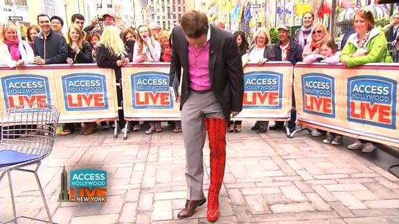 Billy Bush's Kinky Boot!