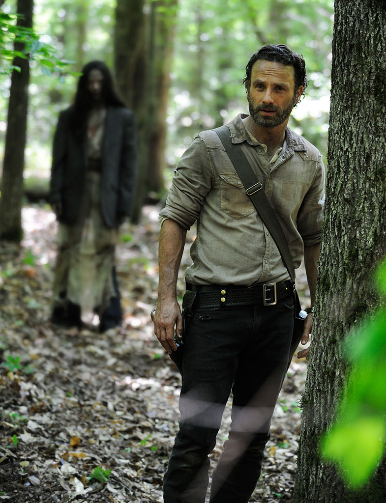Rick Grimes (Andrew Lincoln) in the Season 4 premiere of AMC's