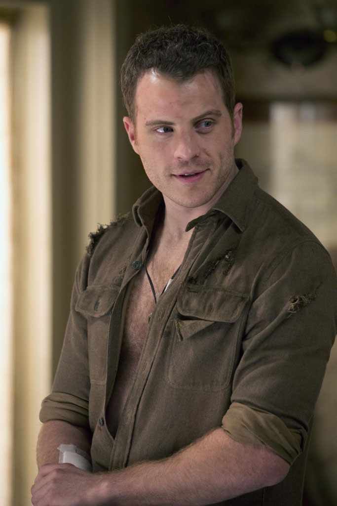 "Rob Kazinsky as Ben Flynn on ""True Blood."""