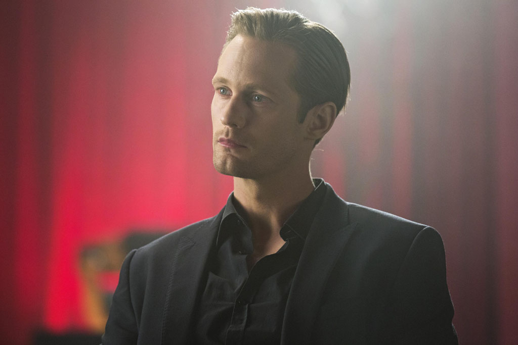 "Eric Northman (Alexander Skarsgård) in ""True Blood."""