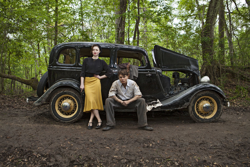 "The Lifetime Original Movie ""Bonnie & Clyde"" stars Emile Hirsch and Holliday Grainger as the legendary 1930s couple whose crime sprees enraptured the American public."