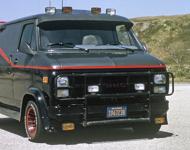 'The A-Team's' '83 GMC G-Series