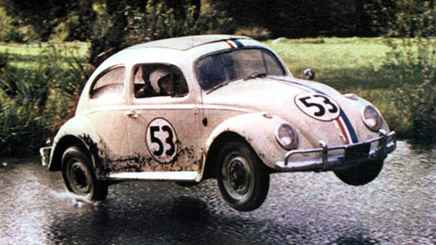 'Herbie the Love Bug's' '63 Volkswagen Beetle