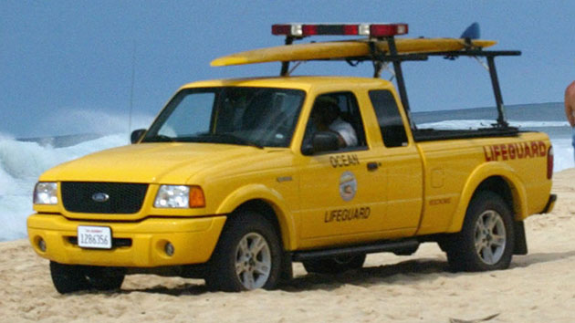 'Baywatch's' Ford truck
