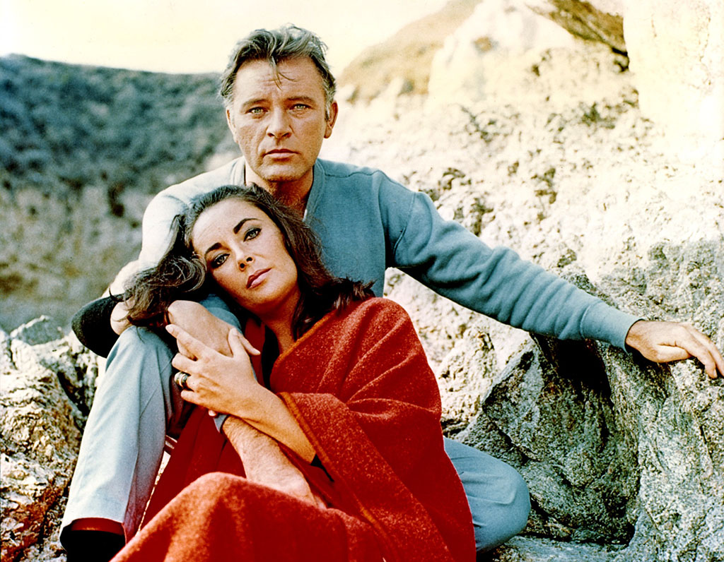Richard Burton and Elizabeth Taylor, 1965