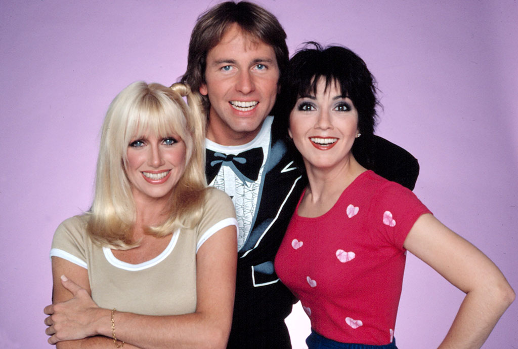 THREE''S COMPANY, 1977-84, Suzanne Somers, John Ritter, Joyce DeWitt, second season