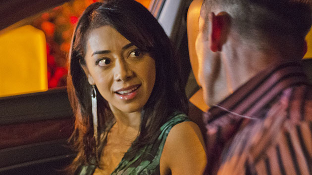"Aimee Garcia as Jamie Batista in the ""Dexter"" Season 8 episode, ""Every Silver Lining."""