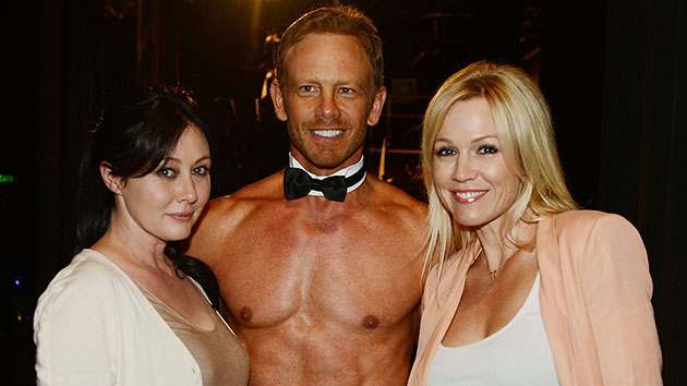 Shannen Doherty, Ian Ziering, and Jennie Garth (Denise Truscello/WireImage)