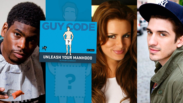 MTV2's 'Guy Code' is now the subject of a book that can help you improve your manly aptitude. (MTV2)