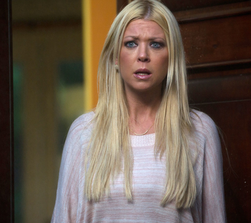 "Tara Reid as April in the Syfy Original Movie, ""Sharknado."""