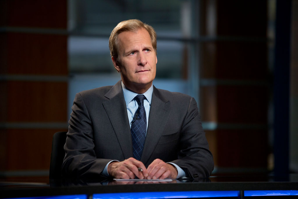 Jeff Daniels in HBO's 'The Newsroom' Season 2 Premiere, 'First Thing We Do, Let's Kill All the Lawyers.'
