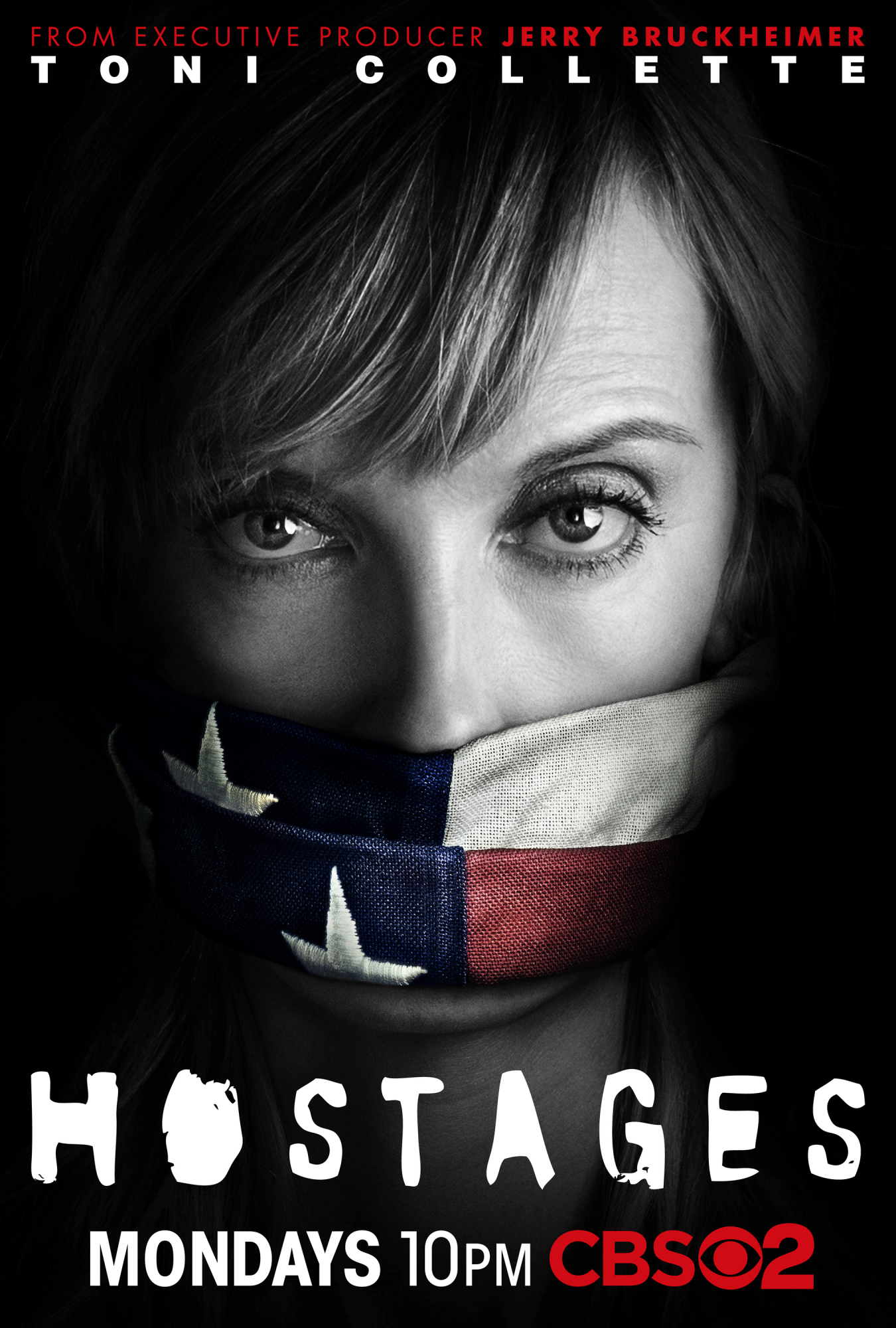 Gagged Via American Flag: CBS Shares 'Hostages' Art