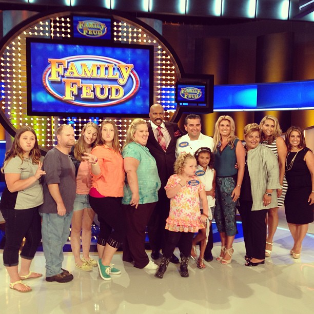 Honey Boo Boo: 18 Backstage Snaps From Her Day at 'Family Feud'