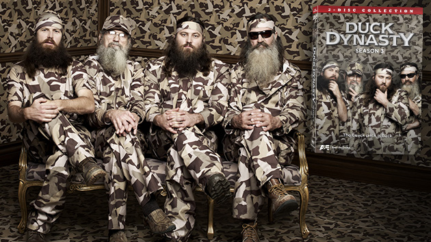 "Phil, Jase, Willie & Si Robertson of the A&E series ""Duck Dynasty."" (Art Streiber/A&E)"