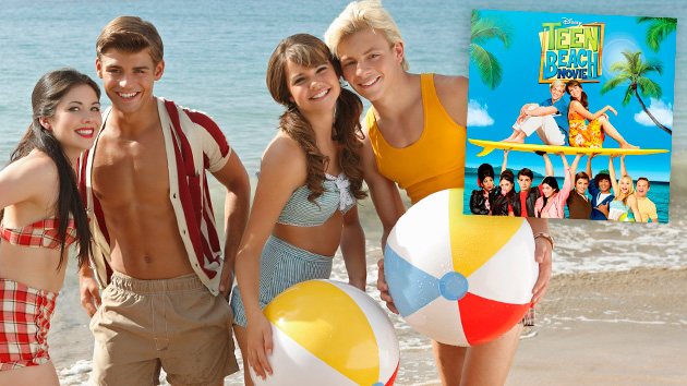 Win a 'Teen Beach Movie' soundtrack autographed by Ross Lynch and Maia Mitchell. (Bob D'Amico/Disney Channel)