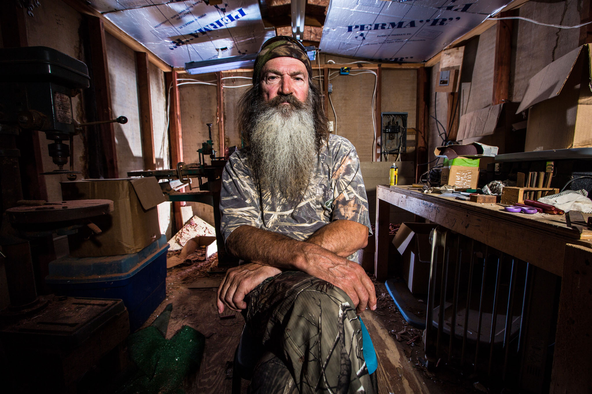 Phil Robertson in Season 4 of A&E's