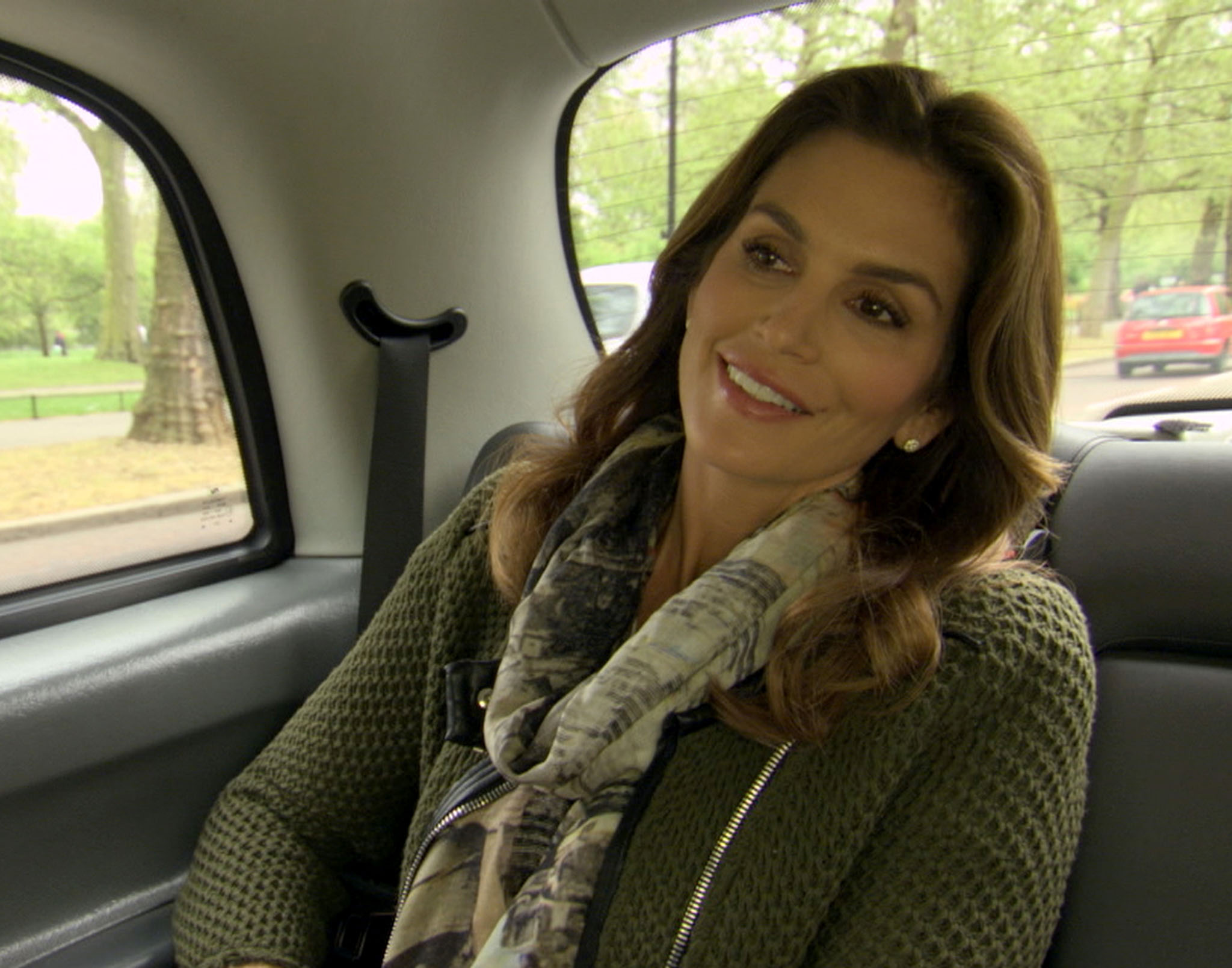 Cindy Crawford in TLC's 'Who Do You Think You Are?'