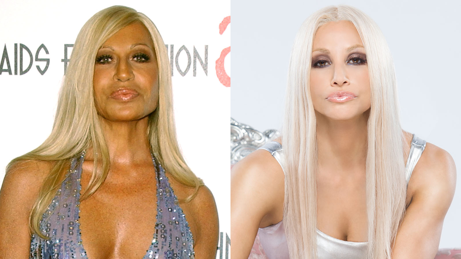 Whoa, Whoa, It's Magic: Lifetime Transforms Gina Gershon Into Donatella Versace
