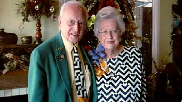Couple Married 64 Years Wears Matching Outfits for 35 of Them