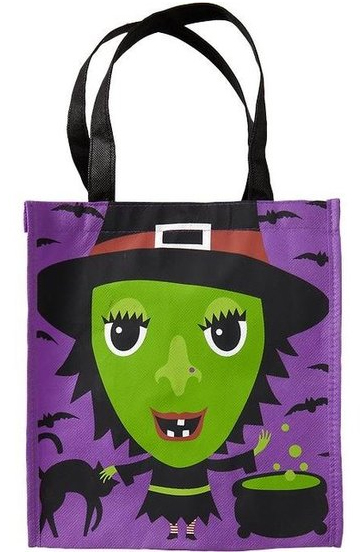 Graphic Trick-or-Treat Bag