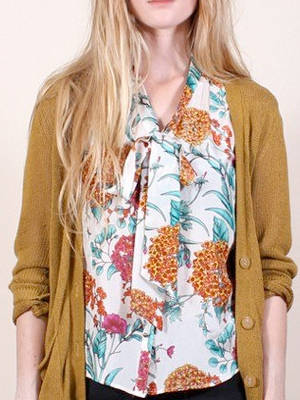 Sleeveless Botany Blouse
