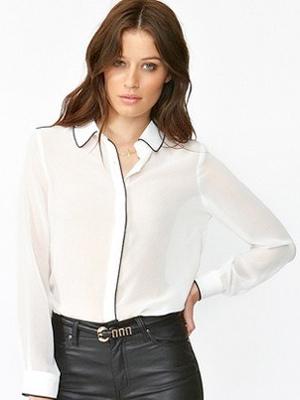 Tux blouse
