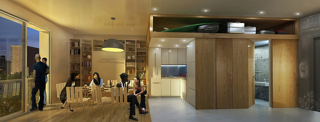 The architects&amp;#39; rendering of their design. Click the image to see more pictures.