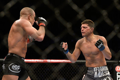 Will Nick Diaz [R] taunt Anderson Silva at UFC 183?