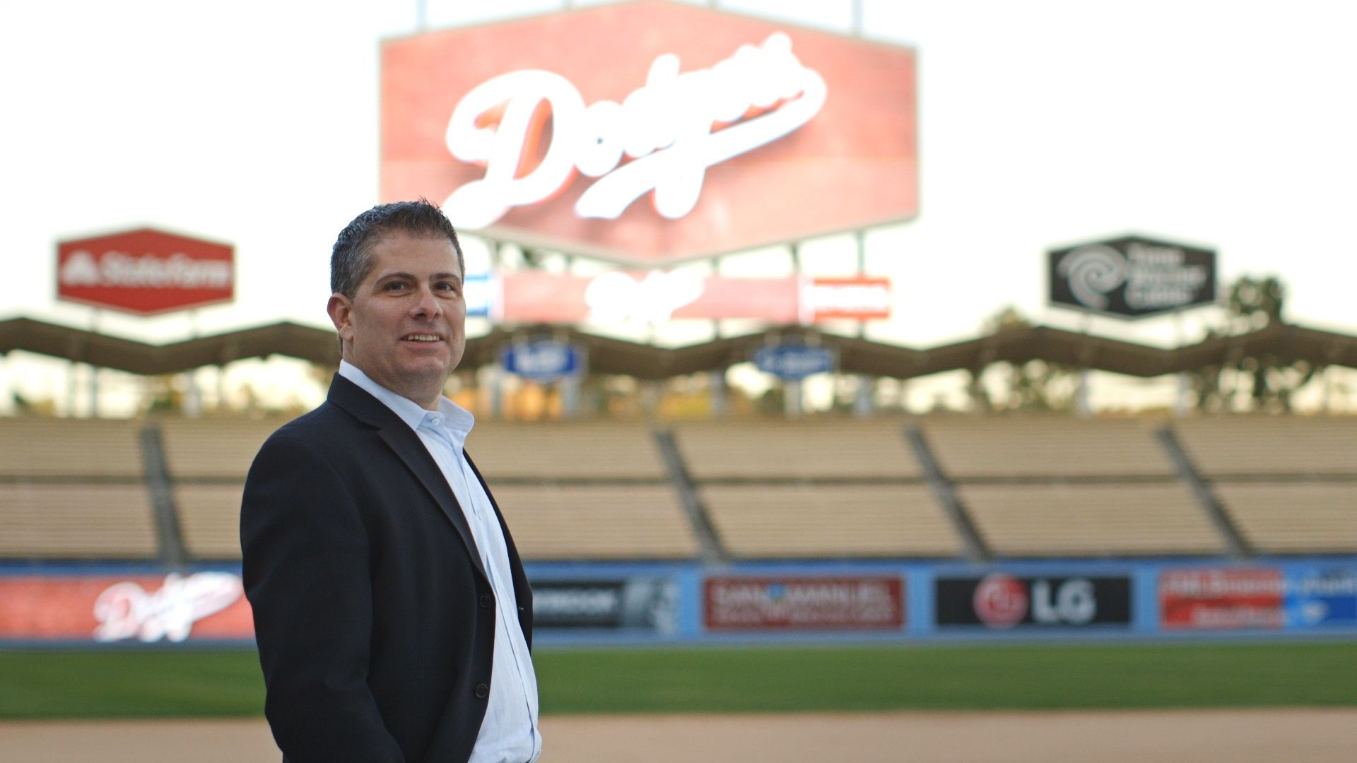 Erik Braverman, director of marketing with the Dodgers, came out publicly in 2015.
