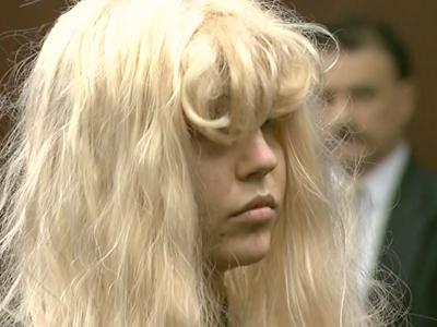 Raw: Bynes Makes Court Appearance in Wig