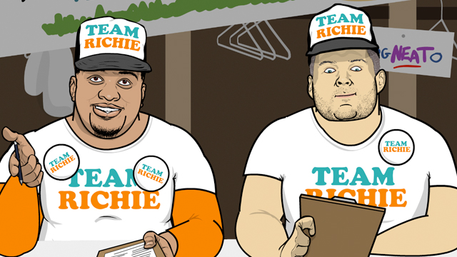 Sports Friends: Team Richie