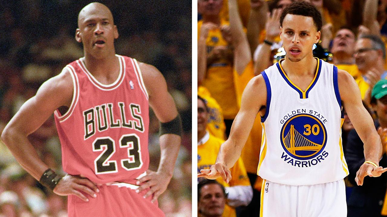 Real recognize real: '95-96 Bulls salute Warriors after Win No.…