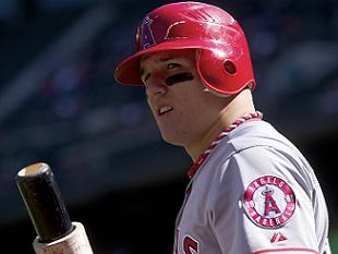 Clean sweep! Mike Trout unanimously voted AL Rookie of the Year
