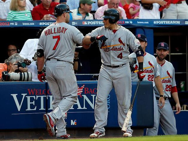 NL wild card game: Cardinals capitalize on Braves mistakes to a…