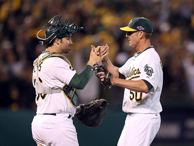 ALDS Game 3: A's ride pitching and great defense to victory, fo…