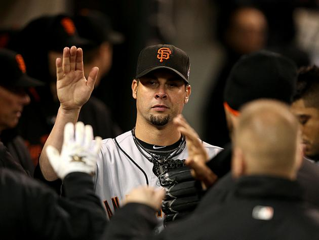 World Series Game 3: Vogelsong, Lincecum pitch Giants to brink …