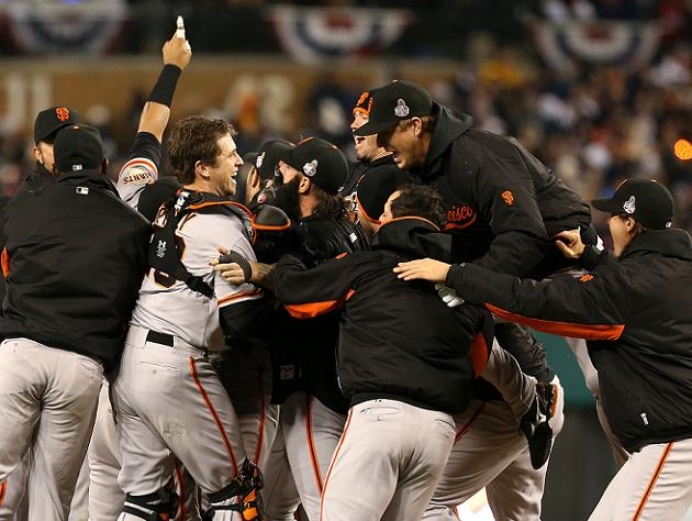 World Series Game 4: Familiar heroes emerge as Giants complete …