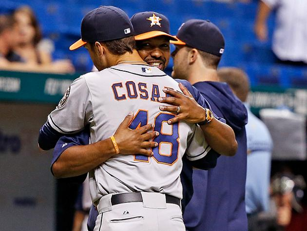 Sparkling debut: Jarred Cosart flirts with no-hitter, throws ei…