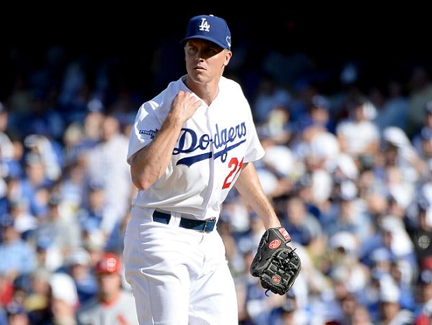 On big stage of NLCS, Dodgers starter Zack Greinke proves he ca…