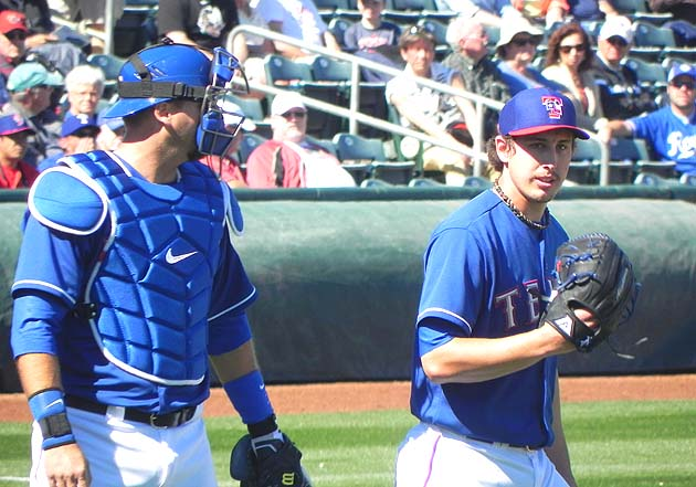 Derek Holland navigates another series of firsts with Texas Ran…