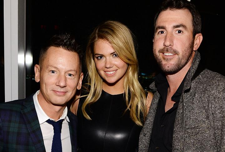 Justin Verlander and Kate Upton appear cozy at GQ Super Bowl pa…