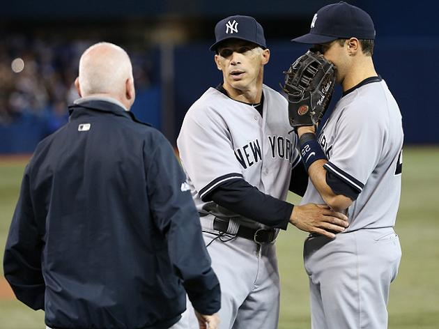 Mark Teixeira headed for MRI after straining right hamstring